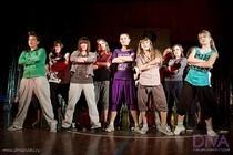 Танцевальная студии Дива. Новый год 2010.
